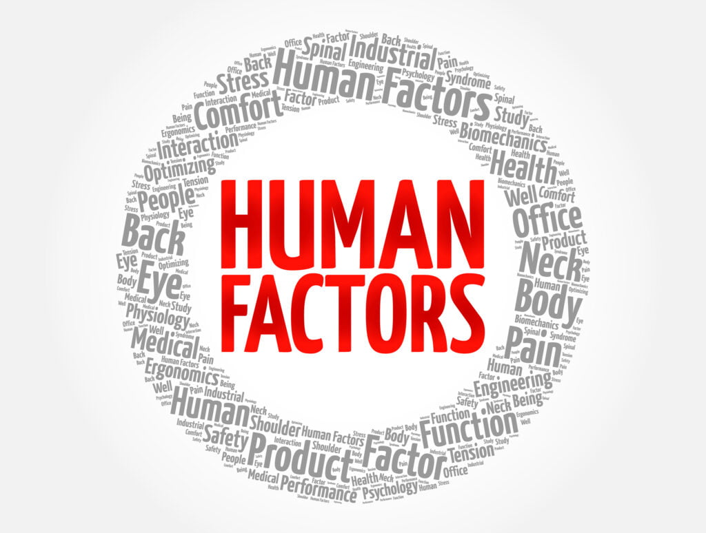 What is the job outlook for human factors psychology?