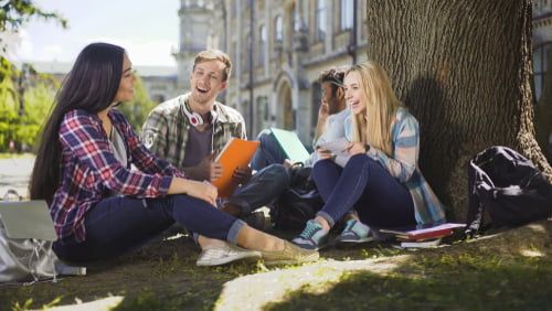 social experience are a benefit to on campus learning