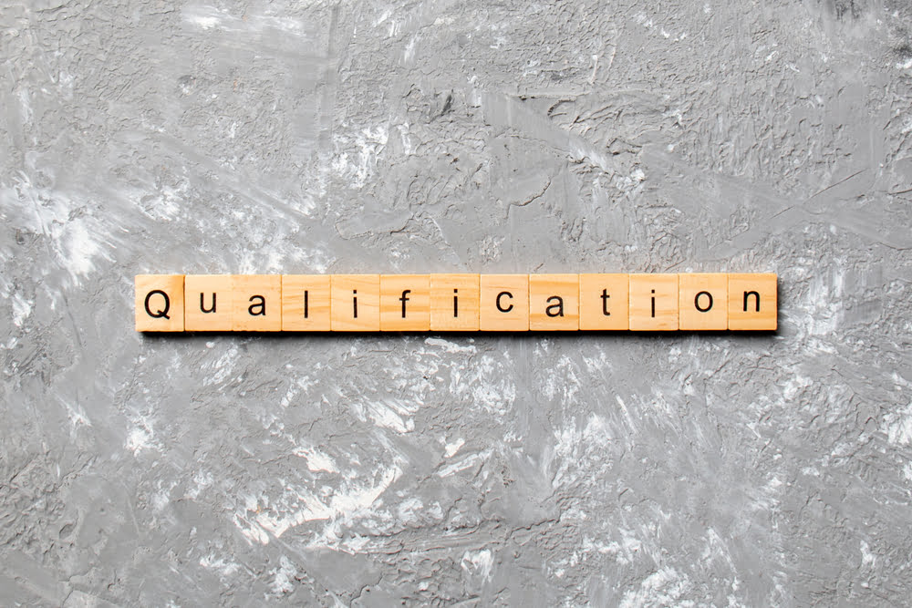 Qualifications as part of job analysis